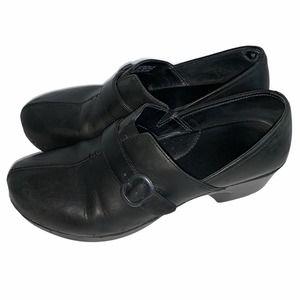 DANSKO Tamara Black Burnished Leather